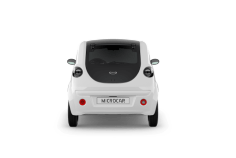 MICROCAR DUE INITIAL - GALERIE - FACE ARRIERE